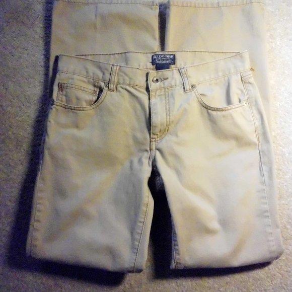 POLO Jeans Co Ralph Lauren Khakis Tan Jeans